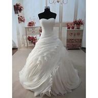 Stunning Ball Wedding Gown. Size: 10 - 14